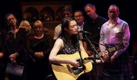Rachel Sermanni at Northern Roots festival 2014