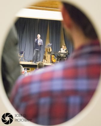 Aidan Moffat previews his new film 'Where We're Meant To Be' at Drumnadrochit Village Hall.