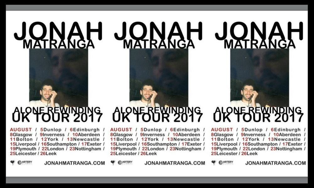 Jonah Matranga (aka onelinedrawing) to play Tooth & Claw in August.