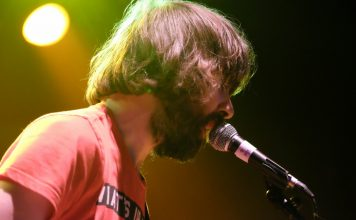 Garden of Elks performing at the Ironworks in 2015