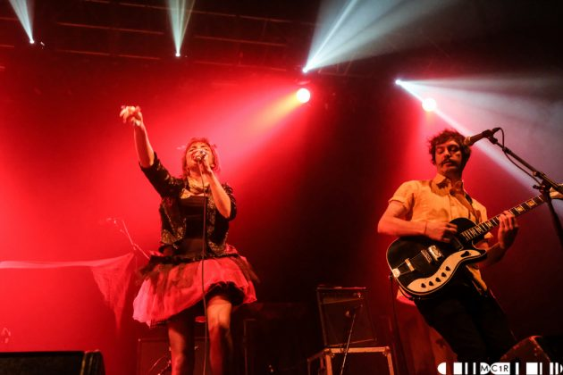 Amy Jo Doh & The Spangles at Ironworks, Inverness