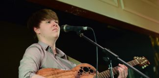 Calum MacKenzie Jones at Charity Fundraiser, Elgin 11:11:2017