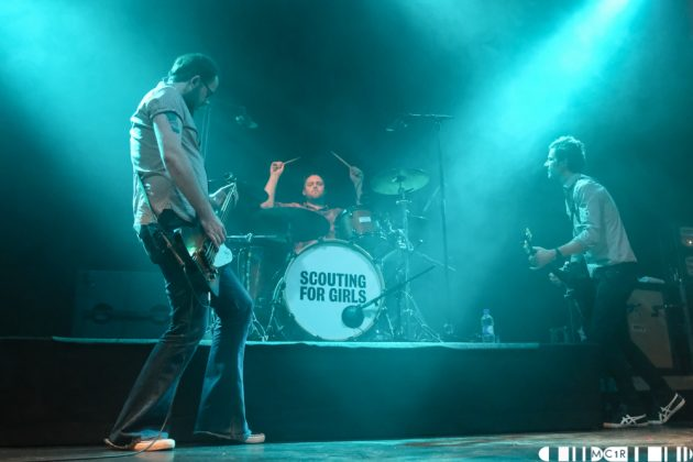 Scouting For Girls at Ironworks, Inverness 28:10:2017