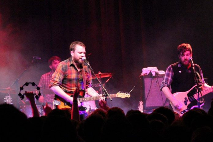 Frightened Rabbit at Strathpeffer Pavillion 2012