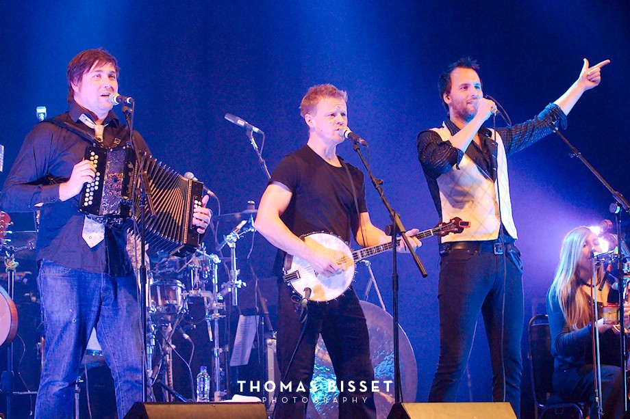 Bellowhead at The Ironworks, Inverness (UK)