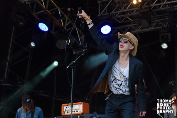 Alabama 3 perform at RockNess 2013