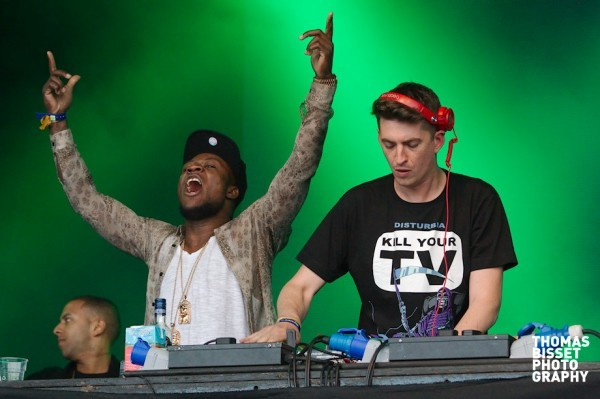 Skream and Benga perform at RockNess 2013