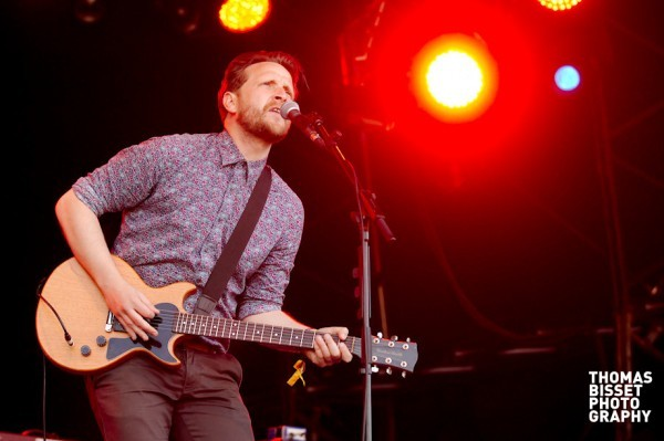 The Futureheads perform at RockNess 2013