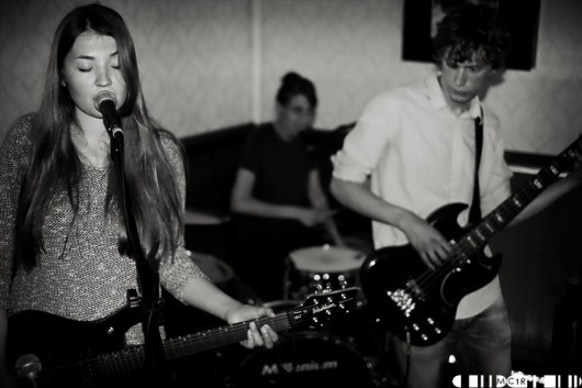 Pale Honey certainly made an impression on the audience,as a warm up for their performance at The Market Bar on Wednesday, Perfect