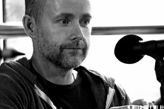 Billy Boyd of Beecake, prior to his gig at The Room later in the evening