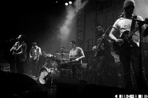 The Whiskys supporting Alabama 3 at the Ironworks