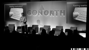 Neil Cartwright recently gave the Keynote presentation at the GoNorth Festival