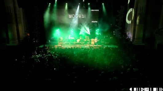 """It's quite an experience, they [Mogwai] move from a delicate ambient soundscape to a thundering wall of sound with a hint of musicality in the blink of an eye"""