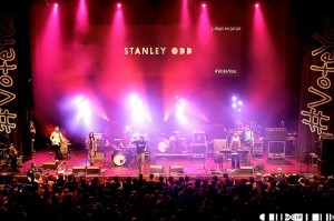 """""""At the heart of the set was the call and response of 'I say Stanley you say Odd', and the crowd did"""""""