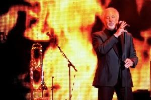 Tom Jones headlined Belladrum 2014