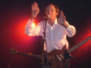 John Otway playing the Hot House Stage at Belladrum 2010