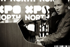 Kathryn Joseph playing a much talked about set at XpoNorth