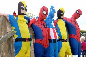 Super Hero theme, was evident throughout Belladrum