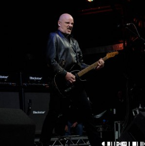 Guitarist and vocalist  Baz Warne