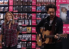 The Shires perform at HMV Inverness