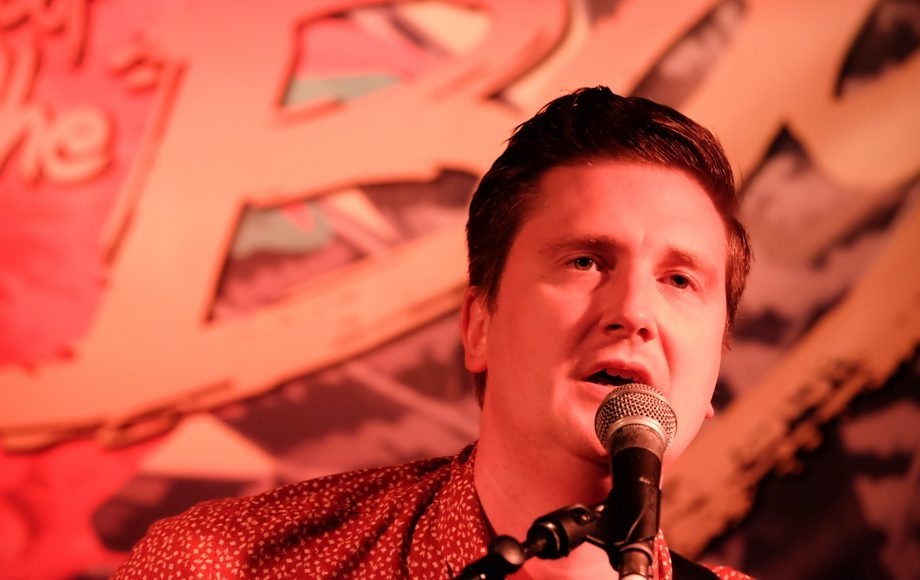 Adam Stafford at Brew at the Bog 2016