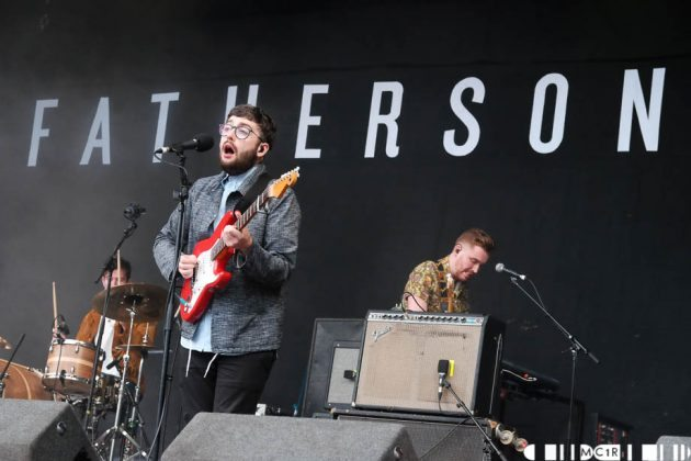 Fatherson on the Garden stage at Belladrum 2016