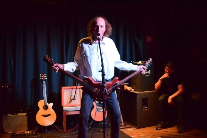 John Otway at Mad Hatters, Inverness