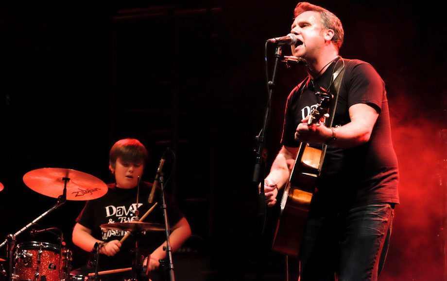 Davy and Sam Cowan at The Ironworks 15 10 2016
