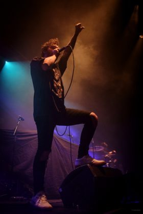 THURSDAY 1ST DECEMBER 2016: Cane Hill perform at the Ironworks in Inverness, United Kingdom
