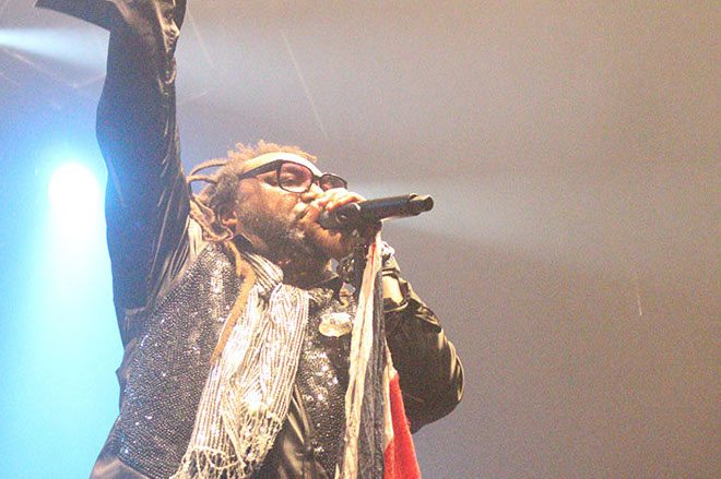 Skindred, with support from Fallen Riot and Raging Speedhorn at the Ironworks