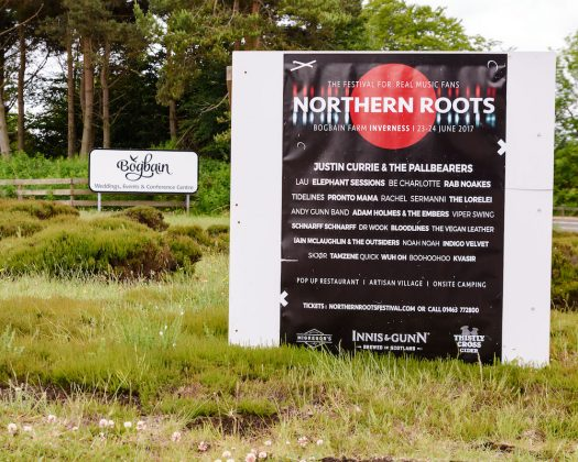 Behind the scenes at Northern Roots - Photographs | Inverness Gigs