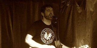 Jonah Matranga , with support from Polar Bears In Purgatory andWitching Waves, at Tooth & Claw, Inverness.