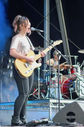 Honeyblood at Carnival Fifty Six 2017