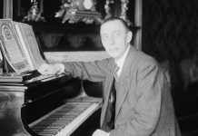 Sergei Rachmaninov – Image courtesy Library of Congress.