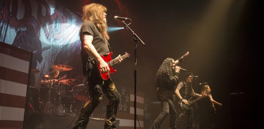 Skid Row at Ironworks, Inverness 6:3:2018