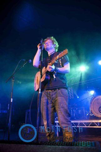 Ed Sheeran Belladrum, Inverness 2011 1