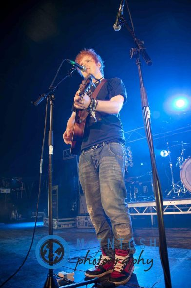 Ed Sheeran Belladrum, Inverness 2011 12
