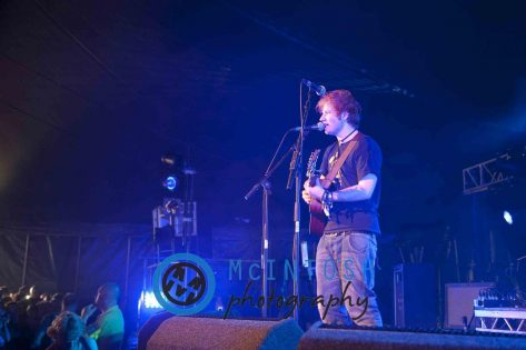 Ed Sheeran Belladrum, Inverness 2011 20