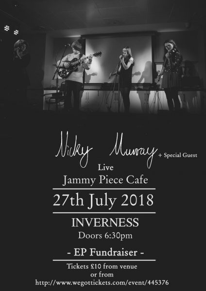 Jammy Piece cafe gig poster 27th July 1 424x600 - Nicky Murray - Interview