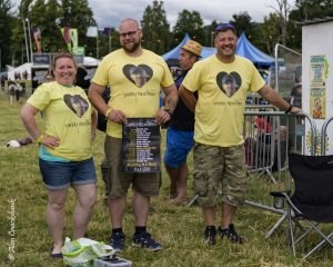 Danny Mortimer supporters at Belladrum 2018