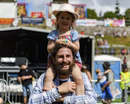 Folk at the fest at Belladrum 2018 7