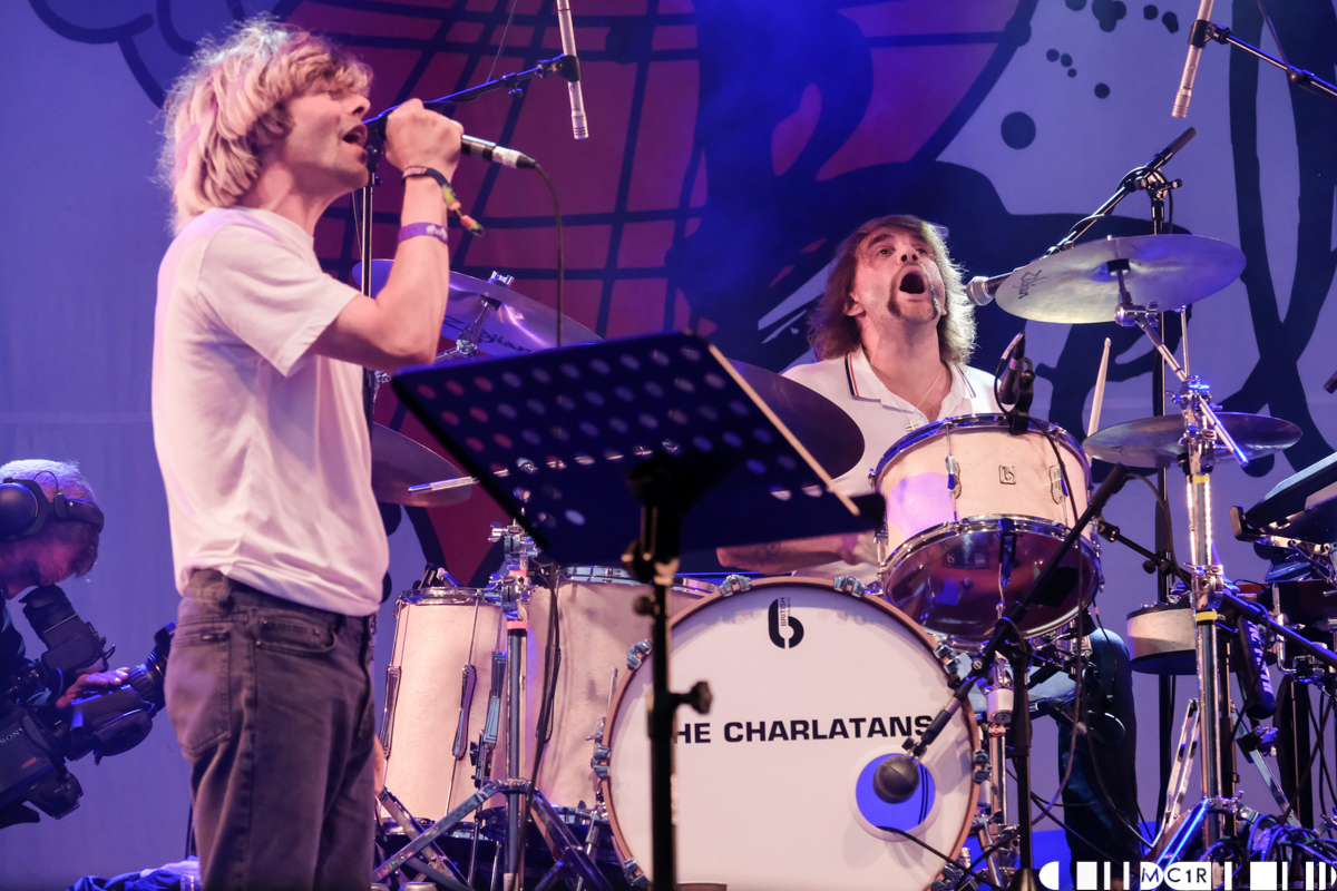 The Charlatans feat. Grant Hutchison at Belladrum 2018 2 - The Charlatans, Friday Belladrum 2018 - IMAGES