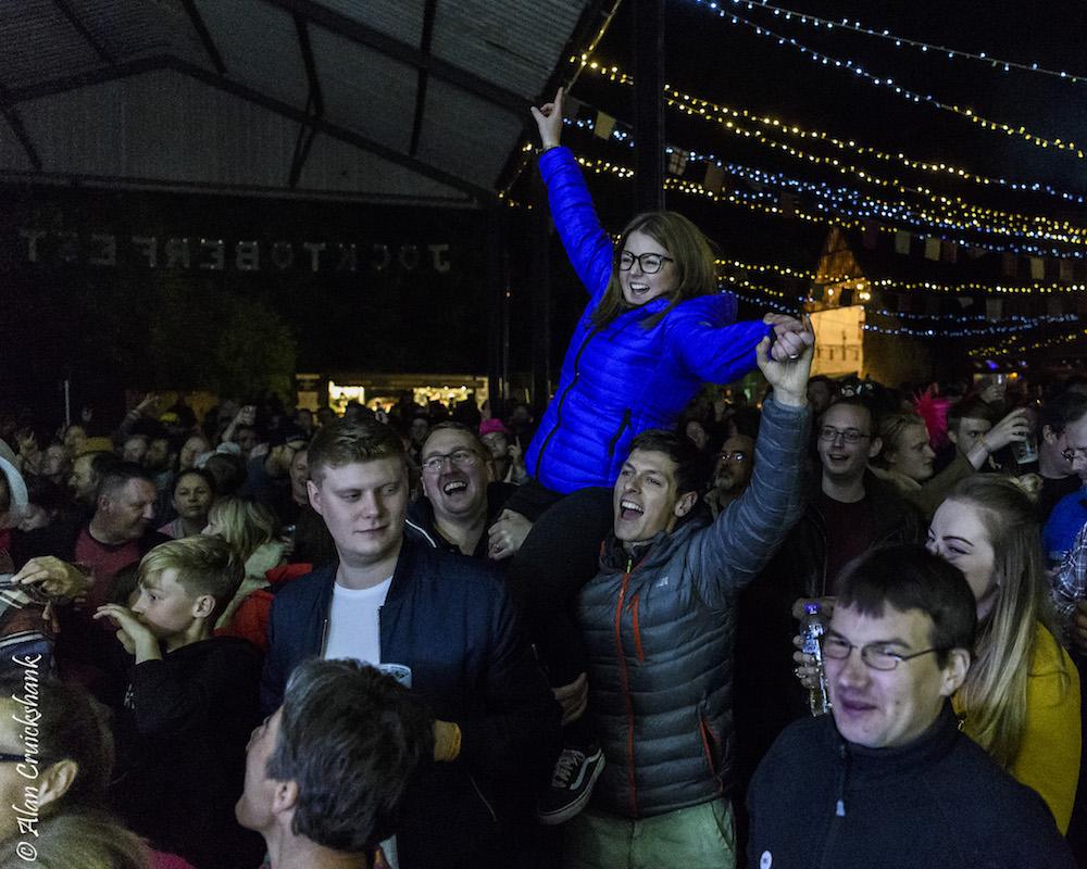Crowd at Jocktoberfest 2018 18a - Jocktoberfest 2018 , Friday (Folk) - Images