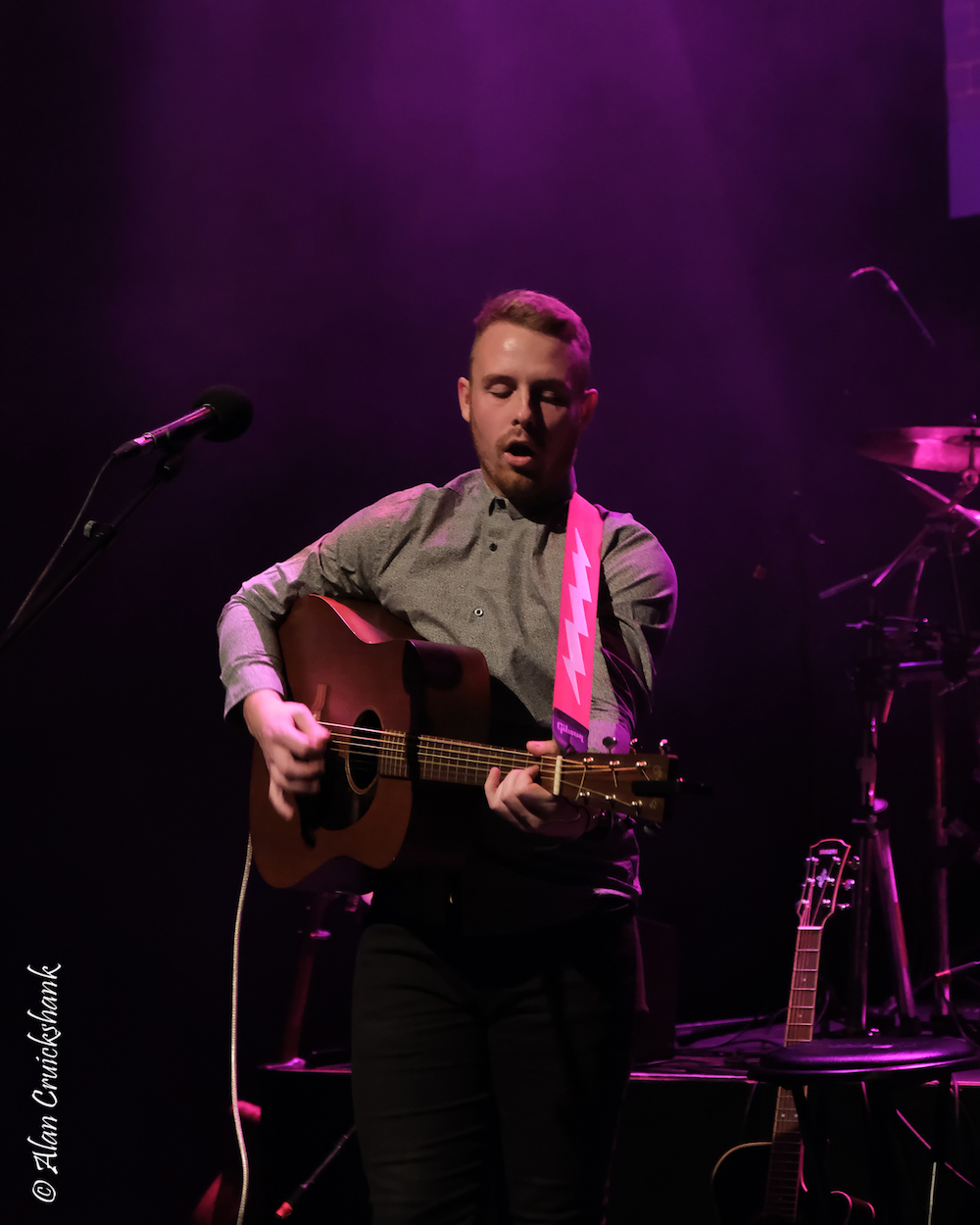 Dylan Tierney at Eden Court October 2018 23 - LIVE REVIEW - Susanna Wolfe Band , 6/10/2018
