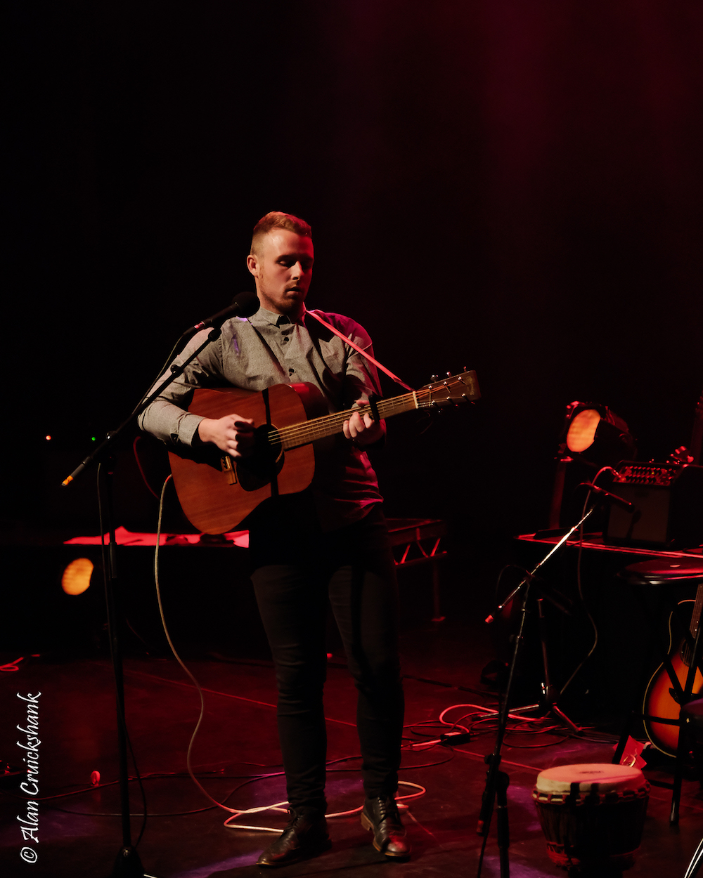 Dylan Tierney at Eden Court October 2018 24 - LIVE REVIEW - Susanna Wolfe Band , 6/10/2018