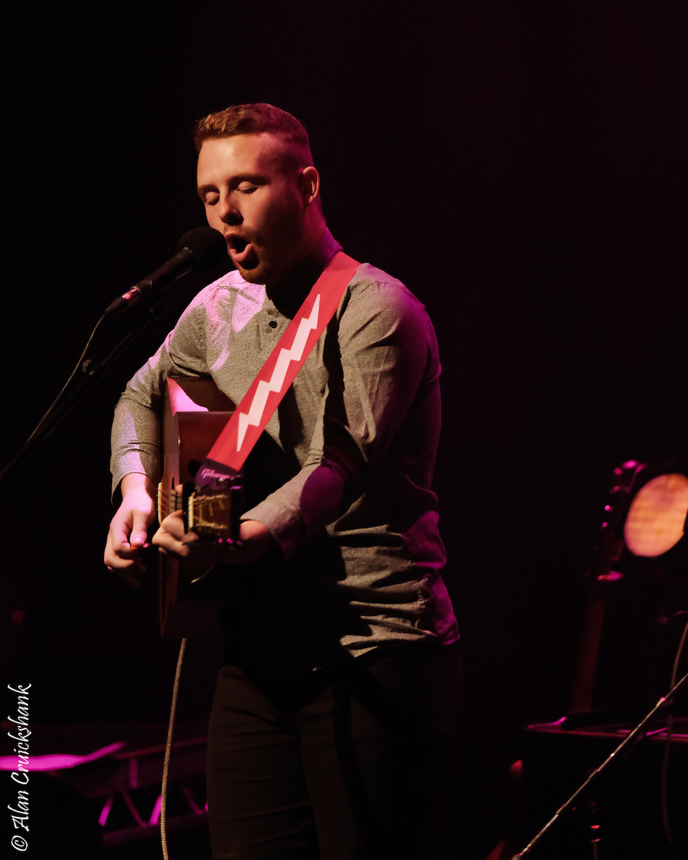Dylan Tierney at Eden Court October 2018 28 - LIVE REVIEW - Susanna Wolfe Band , 6/10/2018