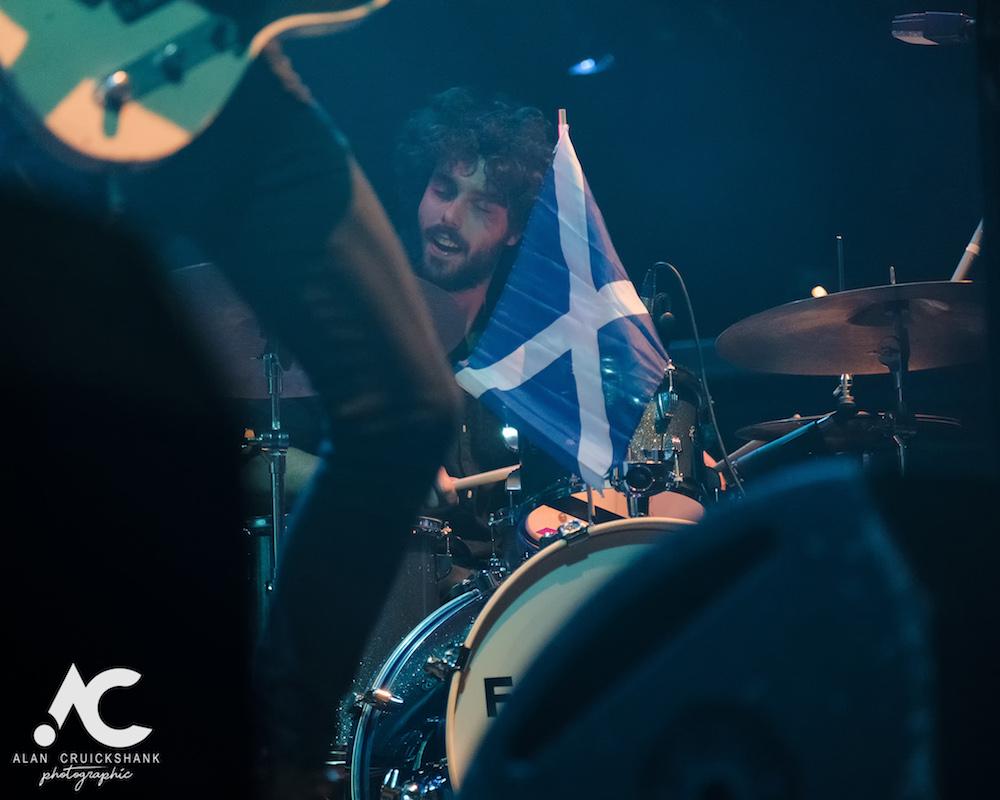 Felix Rabin at Ironworks Inverness November 2018 2 - Wishbone Ash, 28/10/2018 - Images