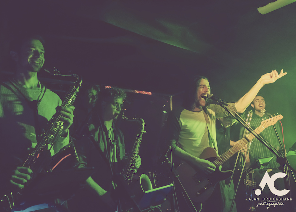 Tom McGuire The Brassholes Inverness November 2018 17 - Tom McGuire & The Brassholes, 8/11/2018 - Images