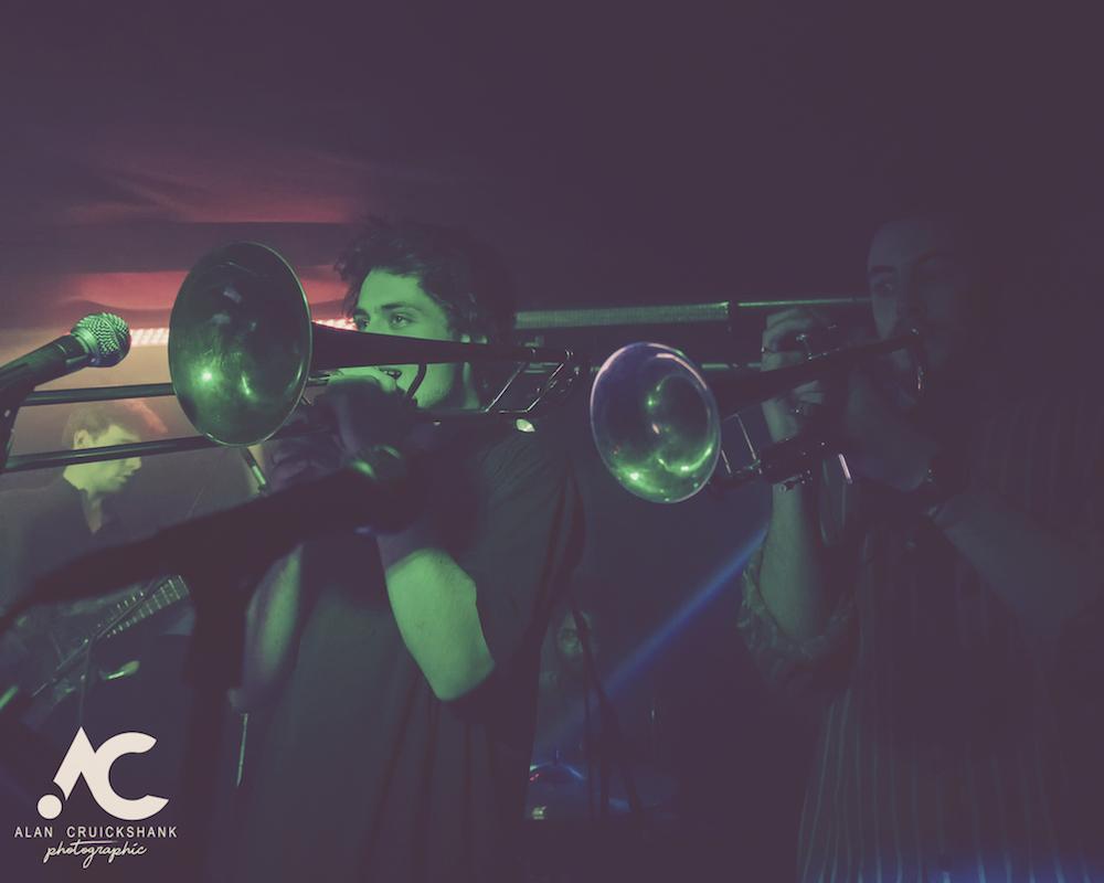 Tom McGuire The Brassholes Inverness November 2018 20 - Tom McGuire & The Brassholes, 8/11/2018 - Images