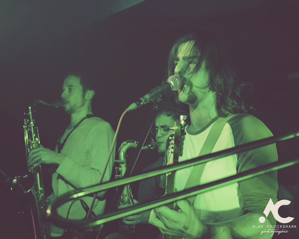 Tom McGuire The Brassholes Inverness November 2018 22 - Tom McGuire & The Brassholes, 8/11/2018 - Images